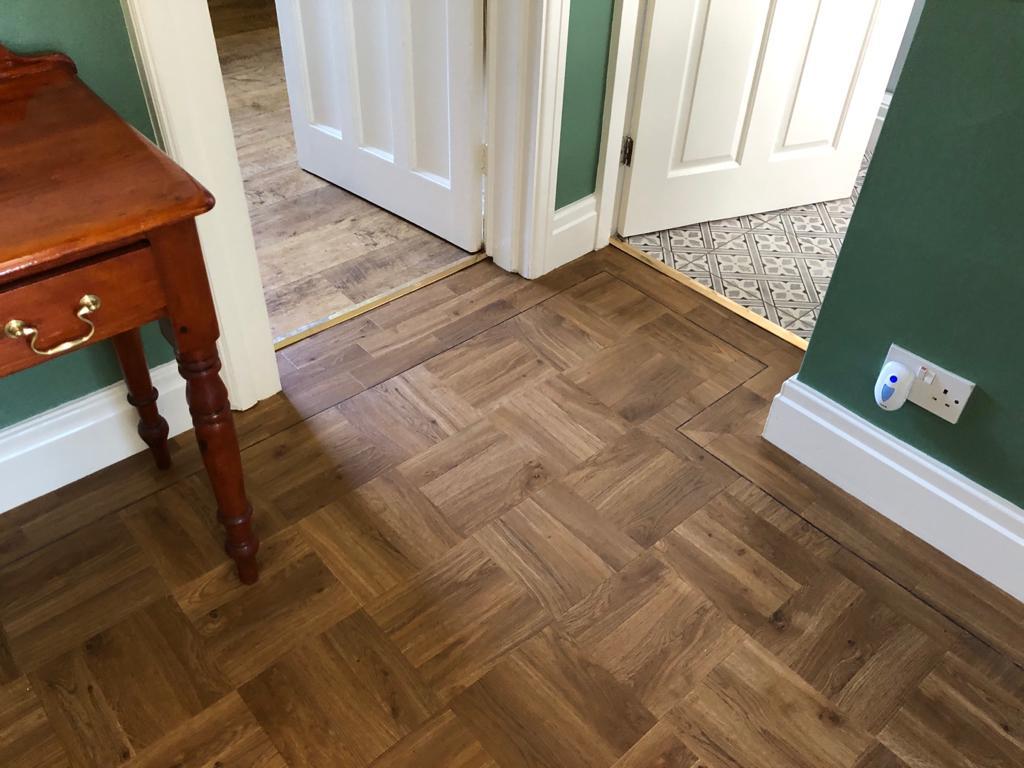 Amtico wooden floor